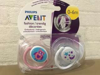 Philips Avent Pacifier (0-6months) orthodontic