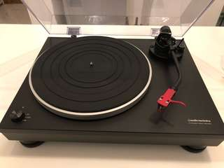 Audio Technica LP-5 with Ortofon 2M Red