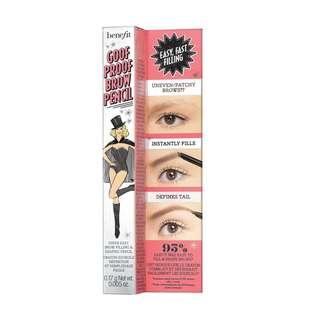 🚚 Benefit Cosmetics - Goof Proof Eyebrow Pencil [Mini]