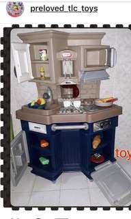Preloved Little Tikes Kitchen Playset