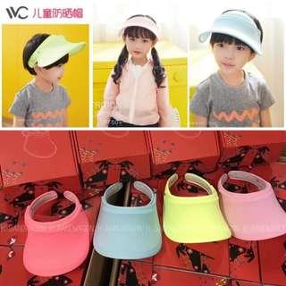 【H.BANDWAGON】韓國 VVC遮陽防曬帽 (兒童) 共4色 爸爸去哪兒 冰冰帽