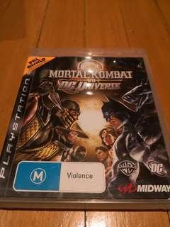 Mortal Kombat vs DC Universe