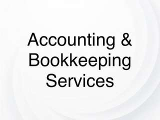 Outsourced Accounting & Bookkeeping Services