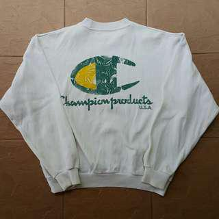 Vintage 1995 champion big logo sweatshirt