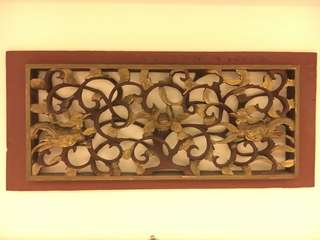 Chinese Wooden Carving Phoenix