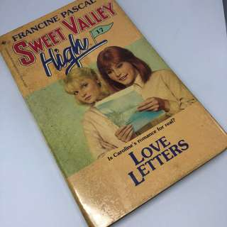 Sweet Valley High #17 - Love Letters