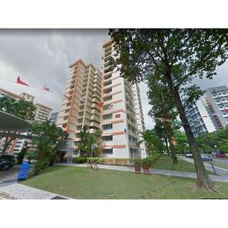 5 Room HUGE & Unfurnished Corner Unit, Whole HDB Flat in Jurong West Boon Lay For RENT