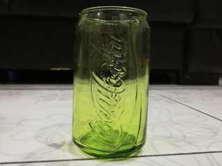 "McDonald's limited edition  coca cola ""can"" glass"