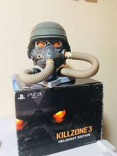 Killzone 3 Helghast Edition helmet