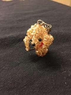 🚚 超可愛 貴賓狗 串珠吊飾