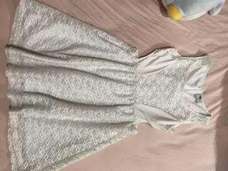 TEMT white dress