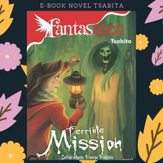 EBOOK PDF NOVEL FANTASTEEN TERRIBLE MISSION