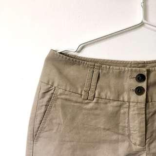 ESPRIT Wide Leg Khaki Trousers