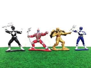 Vintage Power Ranger Figures