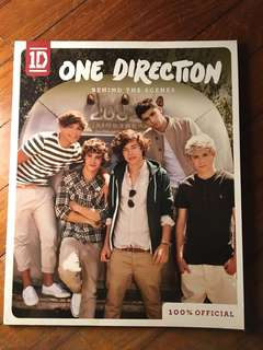 One Direction Behind The Scene Book