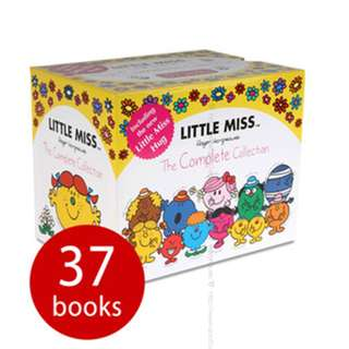 🚚 Little Miss: The Complete Collection - 37 Books Collection Gift Boxset ( All Paperback Books and Brand New )