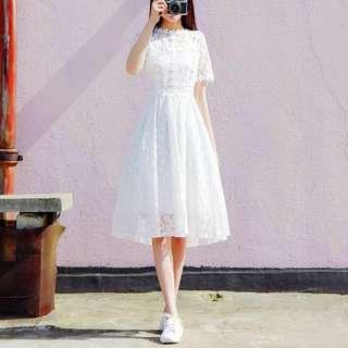 White Lace Dress *new*