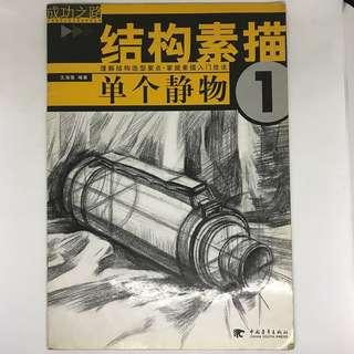 Still Life Drawing Book | 结构素描 单个静物 1 素描入门