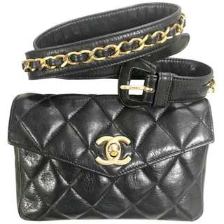Chanel vintage fanny pack beltbag waist bag 二手中古腰包