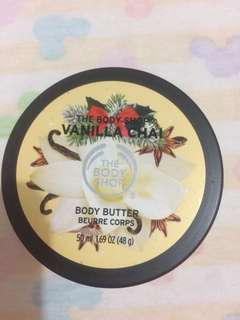Bodyshop vanilla chai body butter 50ml