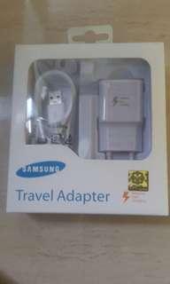 Travel adapter samsung ( charger hp ).Wa ke 085319870645
