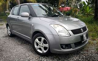 2008 SUZUKI SWIFT 1.5 FULL SPEC TIP TOP CONDITIONER