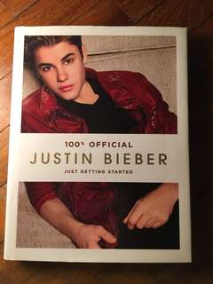 Justin Bieber Just Getting Started Book