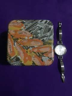 Pre loved Fossil Watch Women