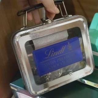 lindt chocolate tin box