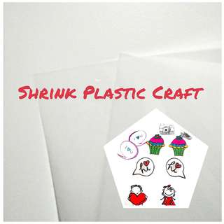 🚚 [Promo] 2x A4 Plastic Shrink Sheet