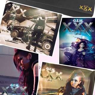 G.E.M. X.X.X. Live演唱會限量造型海報組(一套四款)