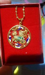 Rare Dragon Pendant..