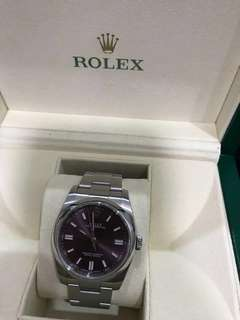 2016 Rolex Watch Oyster Perpetual 36 Red Grape