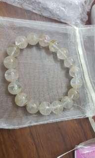 纯洁白水晶 Beautiful pure white crystal