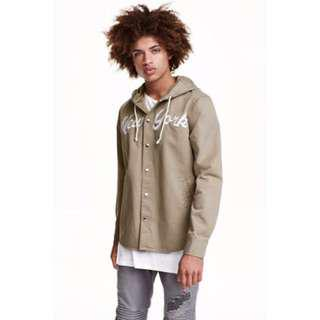 H&M Shirt Jacket With a Hood