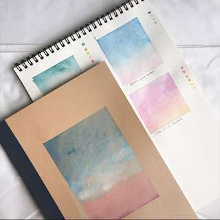 Lovely Sky Lined Notebook