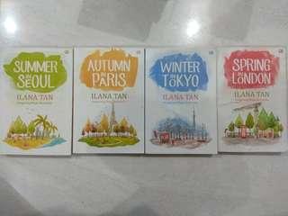 Buku Ilana Tan Sepaket 4 Buku Original 100%