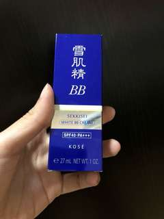 BN Kose White Bb cream spf 40++ 27ml
