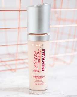 🚚 Rimmel London 25hour breathable lasting finish