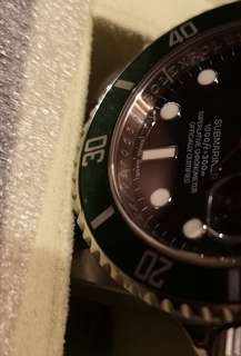 rolex submariner 16610LV 綠圈