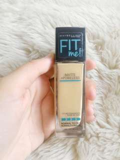 Maybelline fit me matte + poreless 120 classic ivory