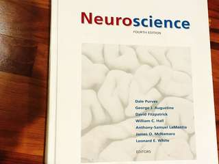 Neuroscience textbook by Purves