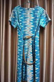 Tribak Batik Dress