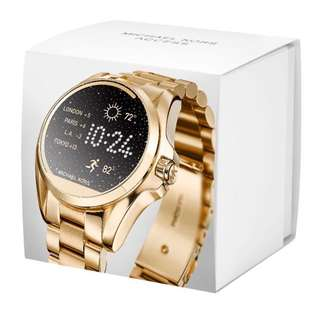 Authentic MK Smartwatch Gold-Tone