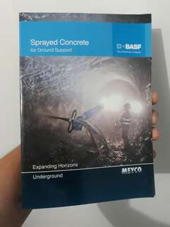 Sprayed Concrete Reference Book