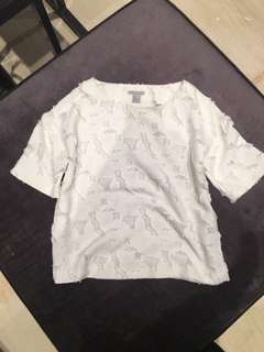 H&M White Tops