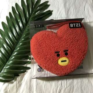 Authentic BT21 Furry Pouch