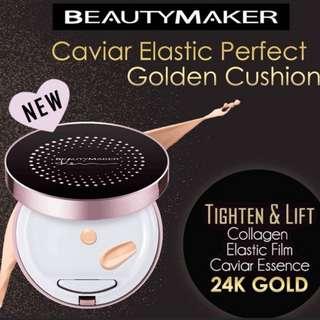 Beautymaker Cavier Elastic Perfect Golden Cushion