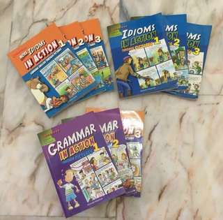 Children's books- Idioms/Grammar In Actions