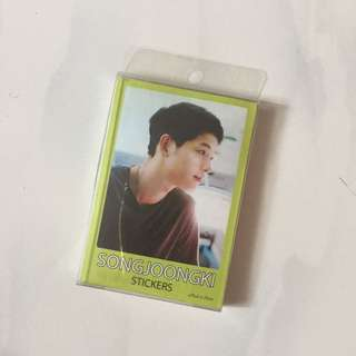 Song Joong Ki Stickers